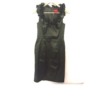 Jessica Simpson size 4 dark green formal dress